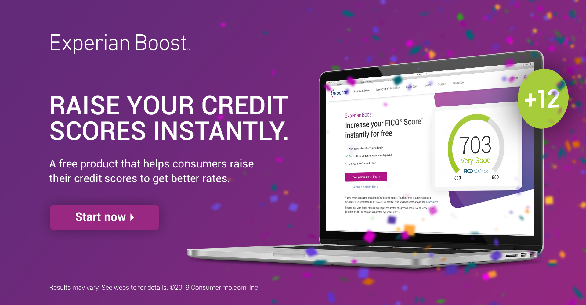 Experian Boost Start Now